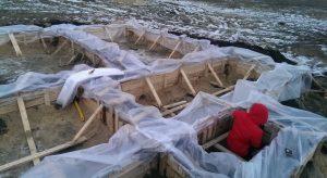 Уход за бетоном зимой